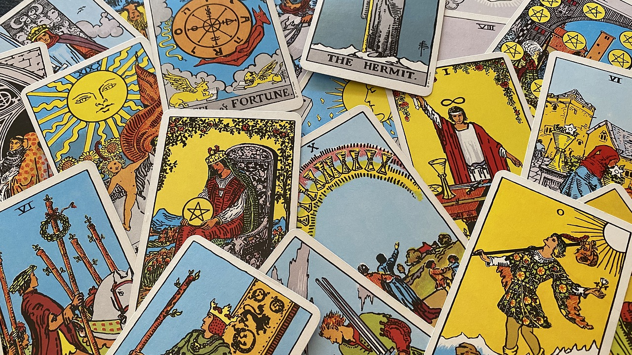 Virtual Tarot Card Reading