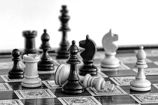 チェス, チェックメート, チェス盤, 戦略, ゲーム, 敗北, 勝利, チェス