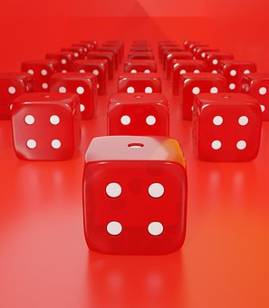 Dice, Gambling, Luck, Random