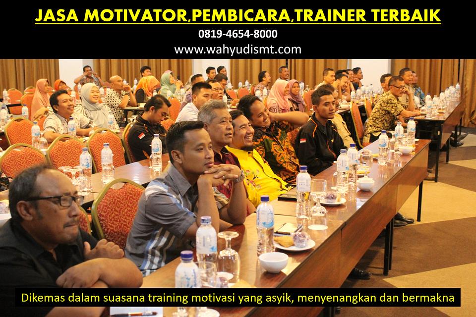 Motivator Terkenal di Sulawesi Barat Terbaik (0819-4654-8000)