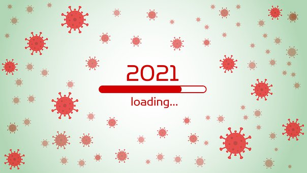 Loading Bar, New Year'S Eve, Virus