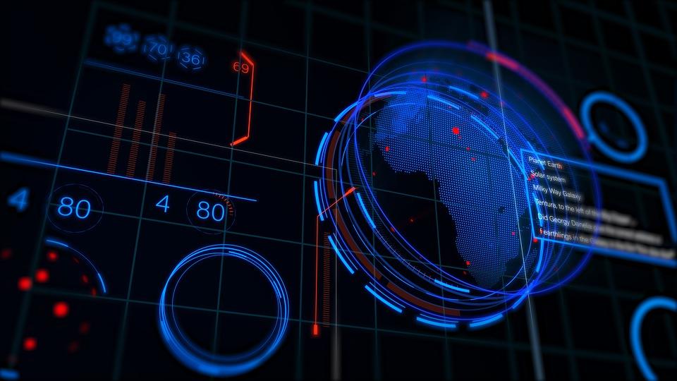 Design, Digital, Future, Futuristic, Globe, Graphics