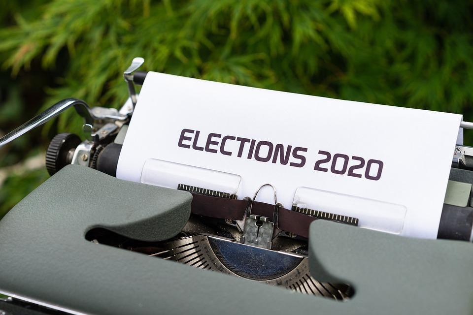 Schrijfmachine, Papier, Bericht, Woord, Verkiezingen