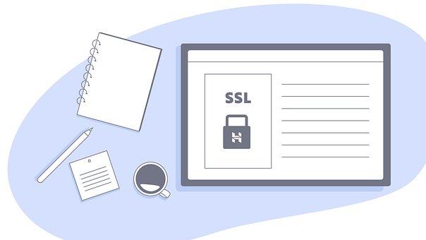 Ssl, Site Web, De Sécurité, Bureau
