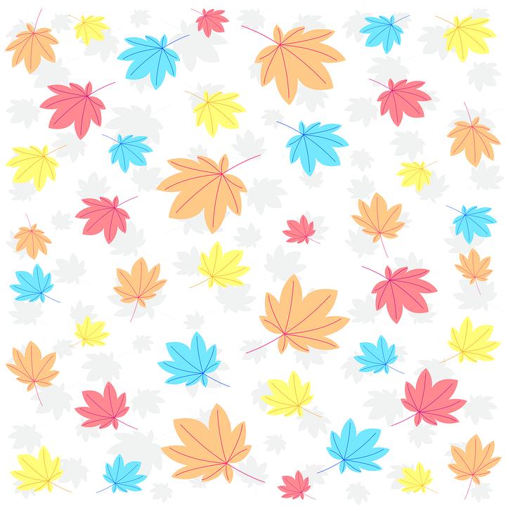Leaves, Flowers, Autumn, Decoration, Floral, Nature