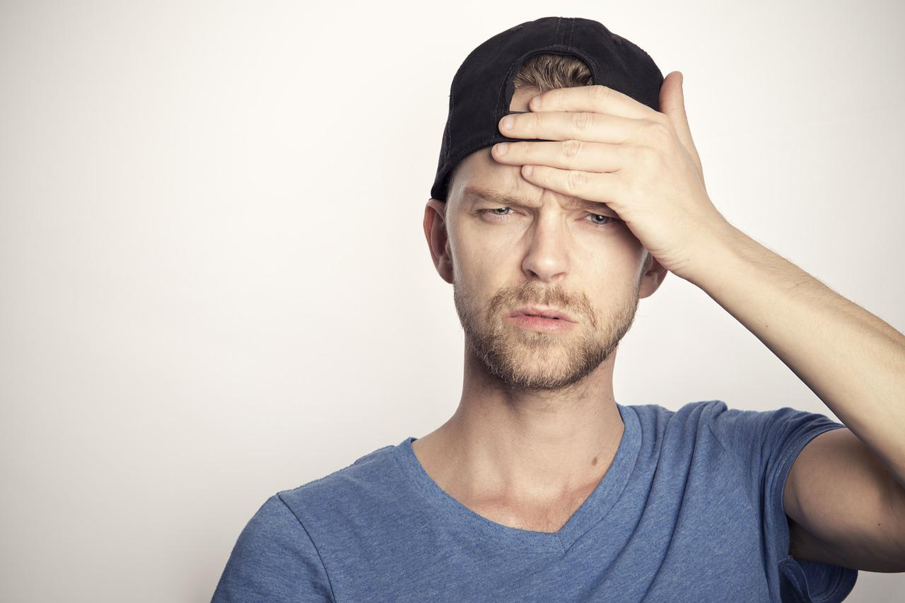 Man Headache Frustration - Free photo on Pixabay