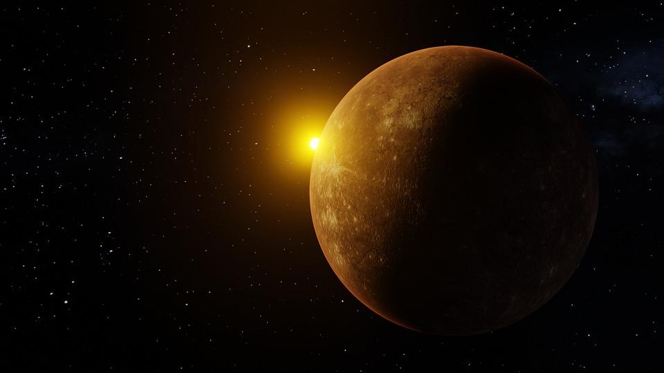 Mercury, Planet, Space, Sphere, Universe, Cosmos