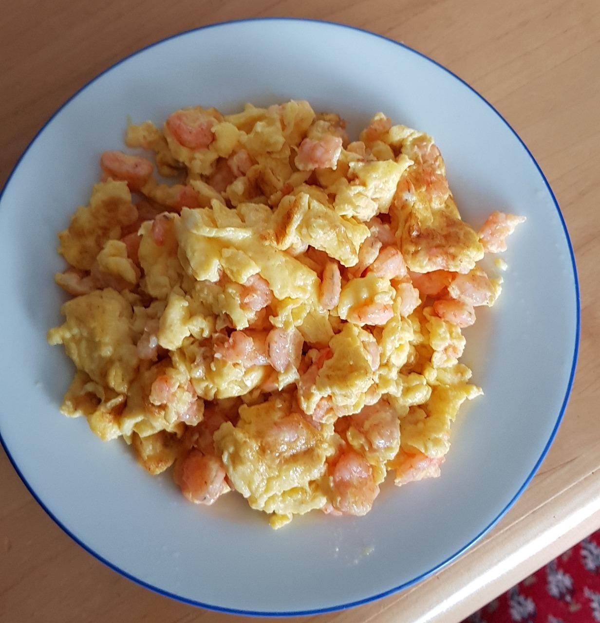 Eat Egg, Scrambled Eggs