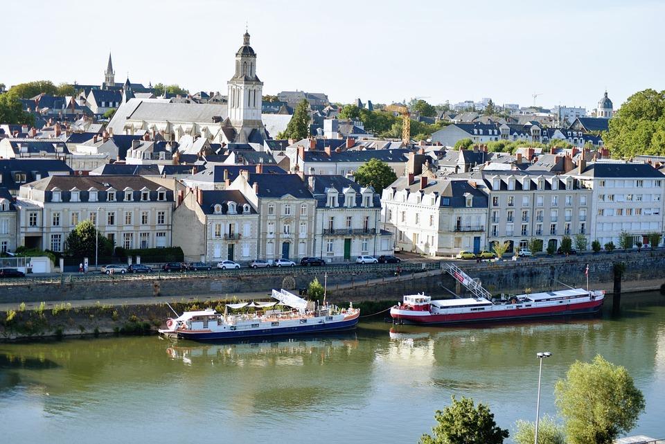 Rivière, Bateaux, Navires, Bâtiments, L'Architecture