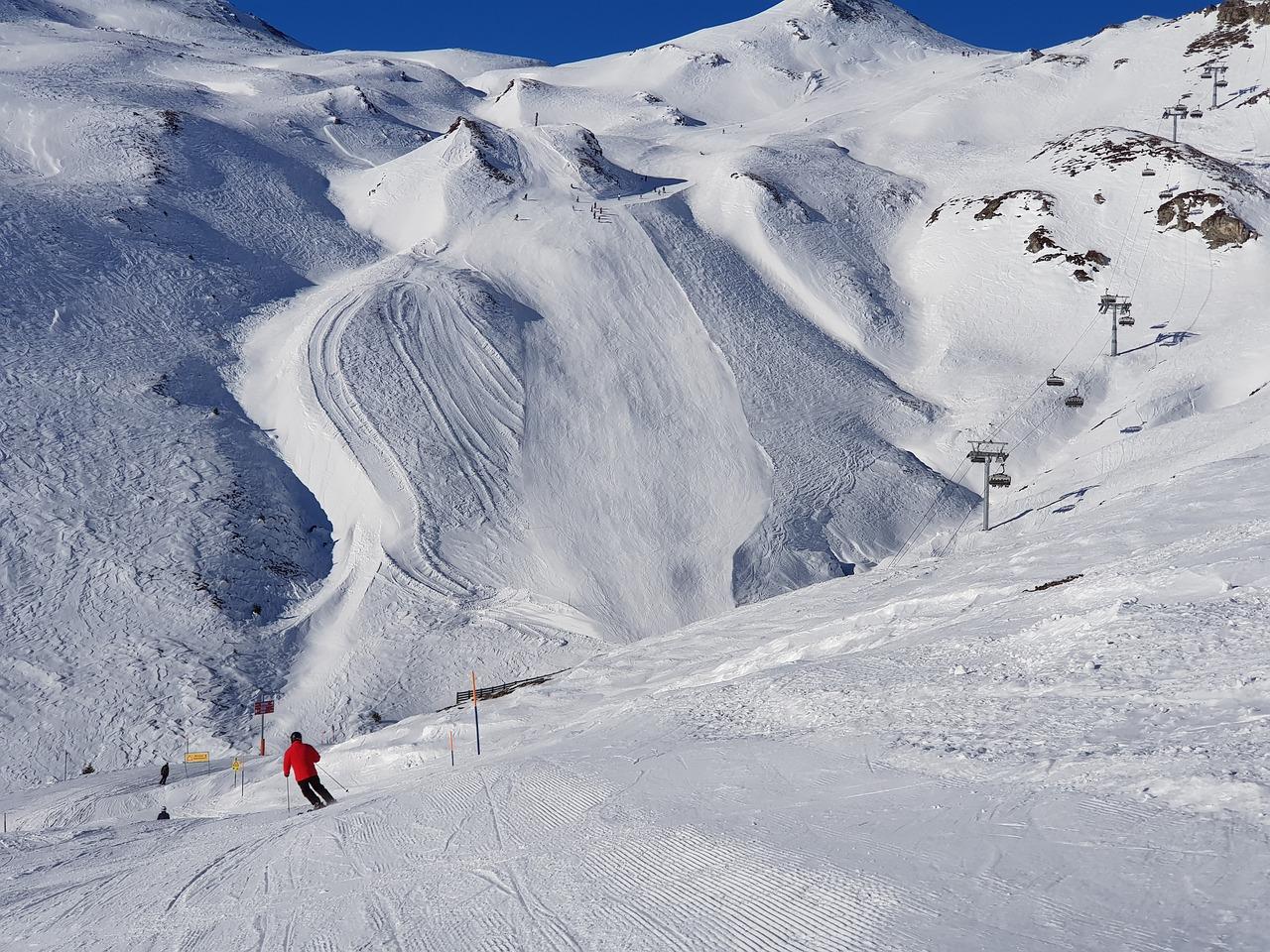 Skiing Ski Center Landscape - Free photo on Pixabay