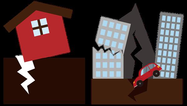 Naturkatastrophe, Erdbeben, Katastrophe