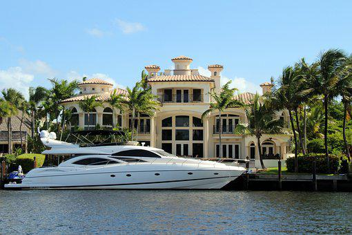 Yacht, Boat, Millionaire, Wealth, Villa