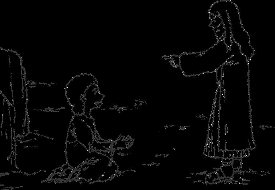 Bible Dessin Anime Jesus Images Vectorielles Gratuites Sur Pixabay
