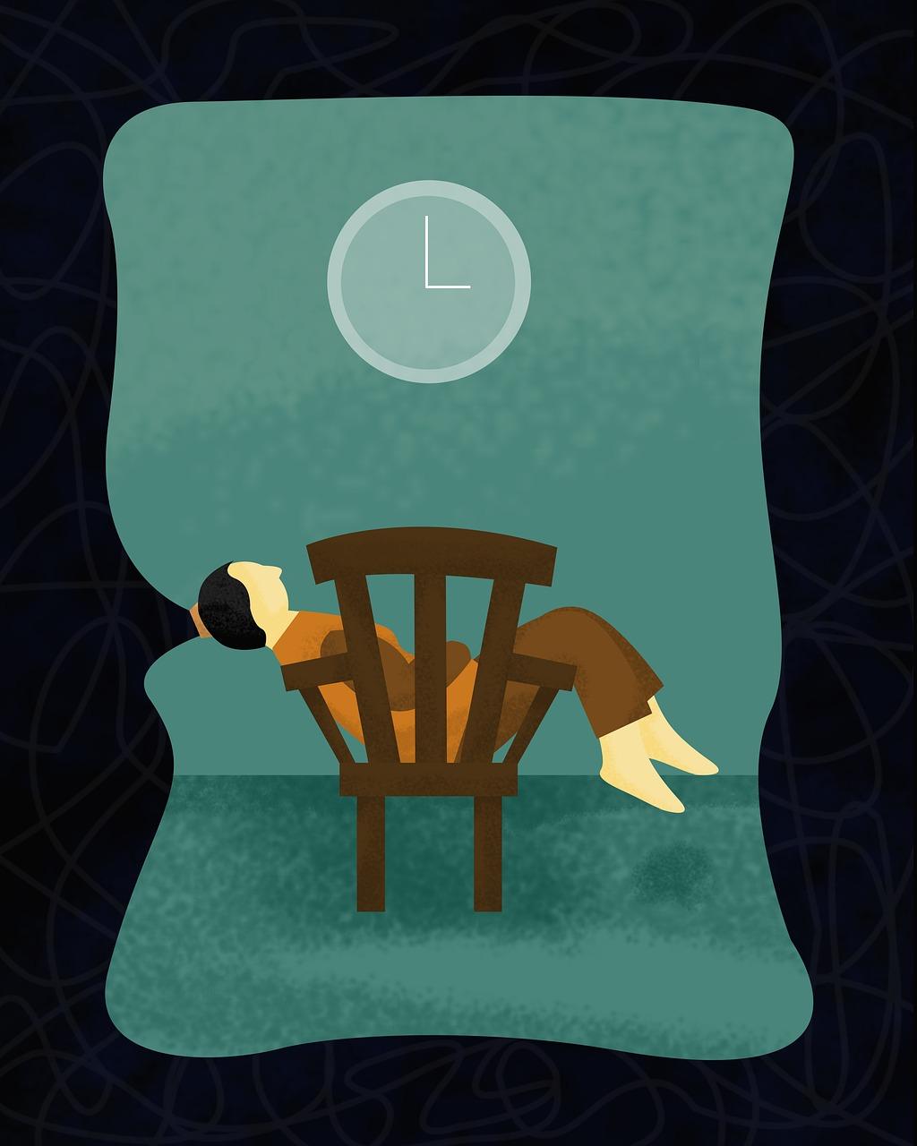 Stuhl Person Uhr - Kostenloses Foto auf Pixabay
