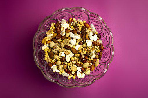 Nuts, Seeds, Almonds, Pistachios, Mix