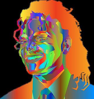 Porträt, Michael Jackson, Mann, Berühmt