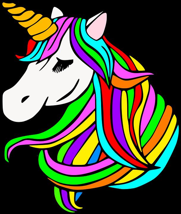 Unicorn Kuda Poni Gambar Vektor Gratis Di Pixabay