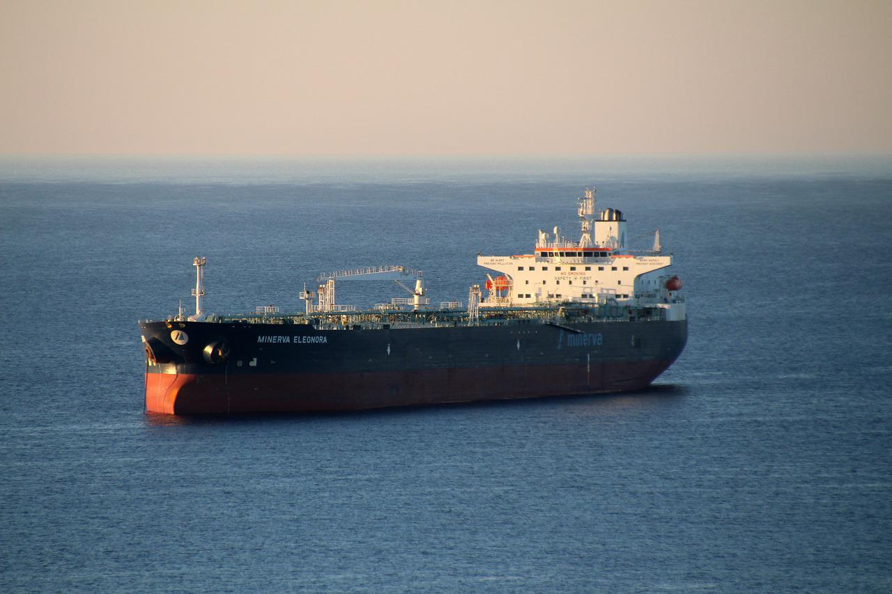 Image of Aframax freighter