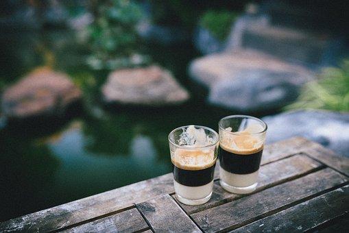 For straight espresso drinks