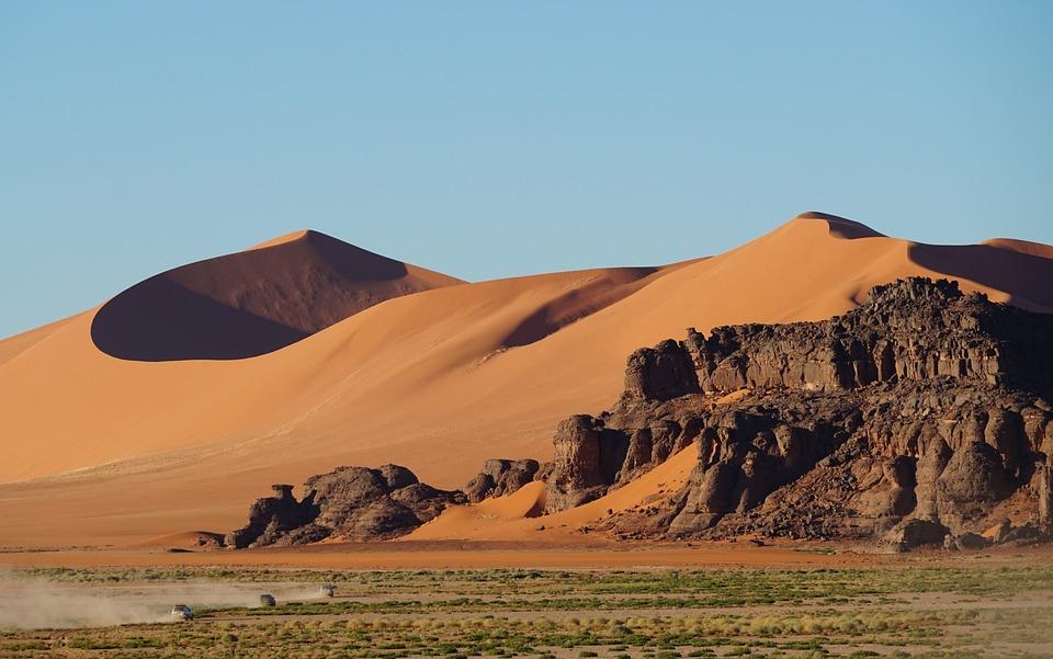Dunas, Desierto, Formación Rocosa, Mesa, Arena, Hoodoo