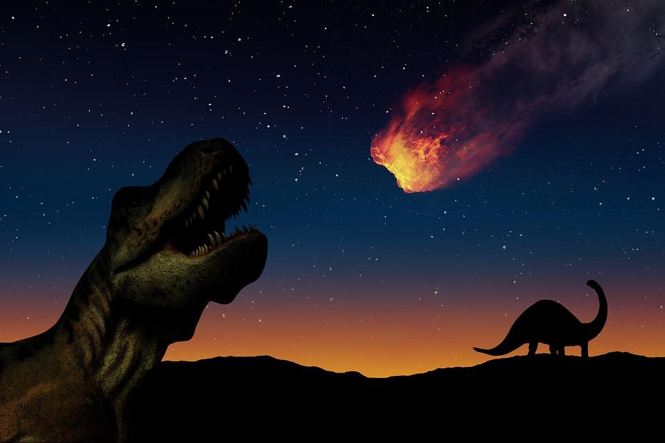 Dinosauři, Planetka, Hvězdy, Prehistorický, Zánik
