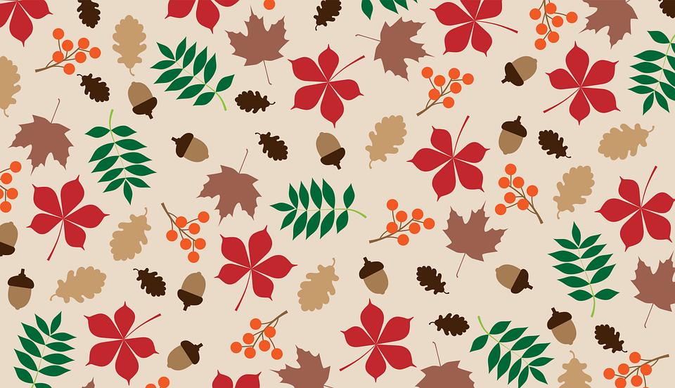 Autumn, Leaves, Pattern, Autumn Pattern, Autumn Design