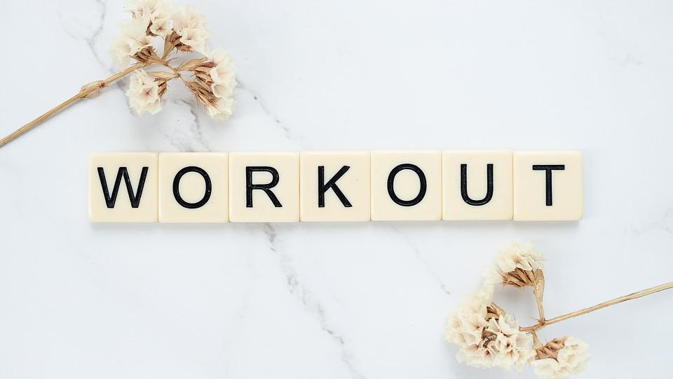 トレーニング, ワード, 文字, フィットネス, モチベーション, 体, 強力な, アクティブ, 運動選手
