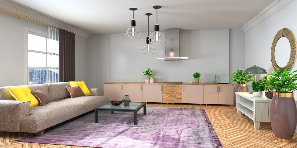 Стая, Интериорен Дизайн, 3D Визуализация, Декор