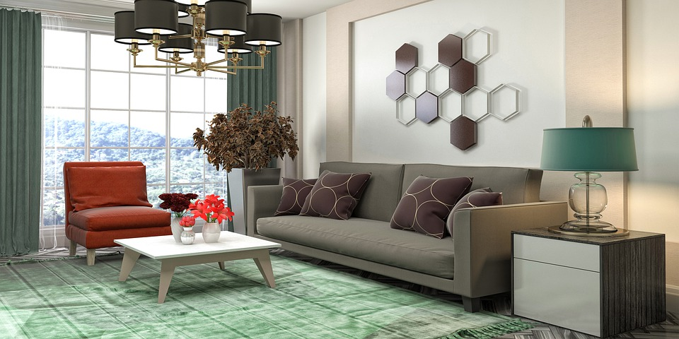 Living Room Interior Design 3D - Free image on Pixabay