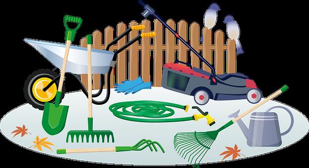 60+ Free Garden Tool & Shovel Vectors