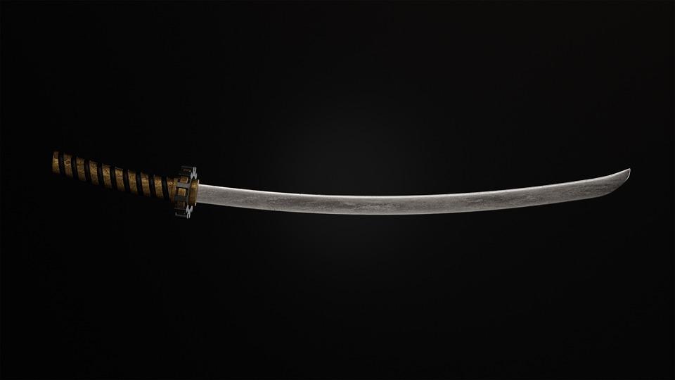 刀、刀、武器、日本刀、刃、鋭利
