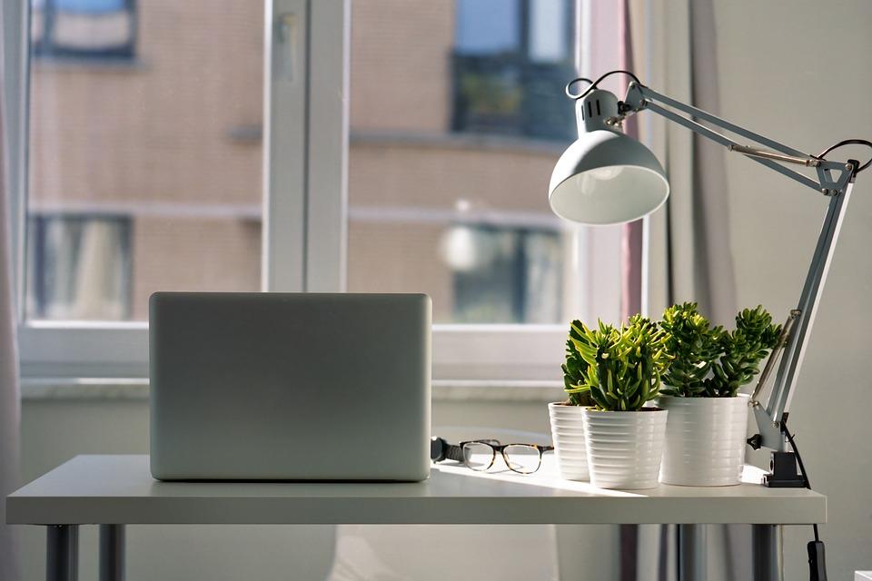 Portatile, Spazio Di Lavoro, Home Office