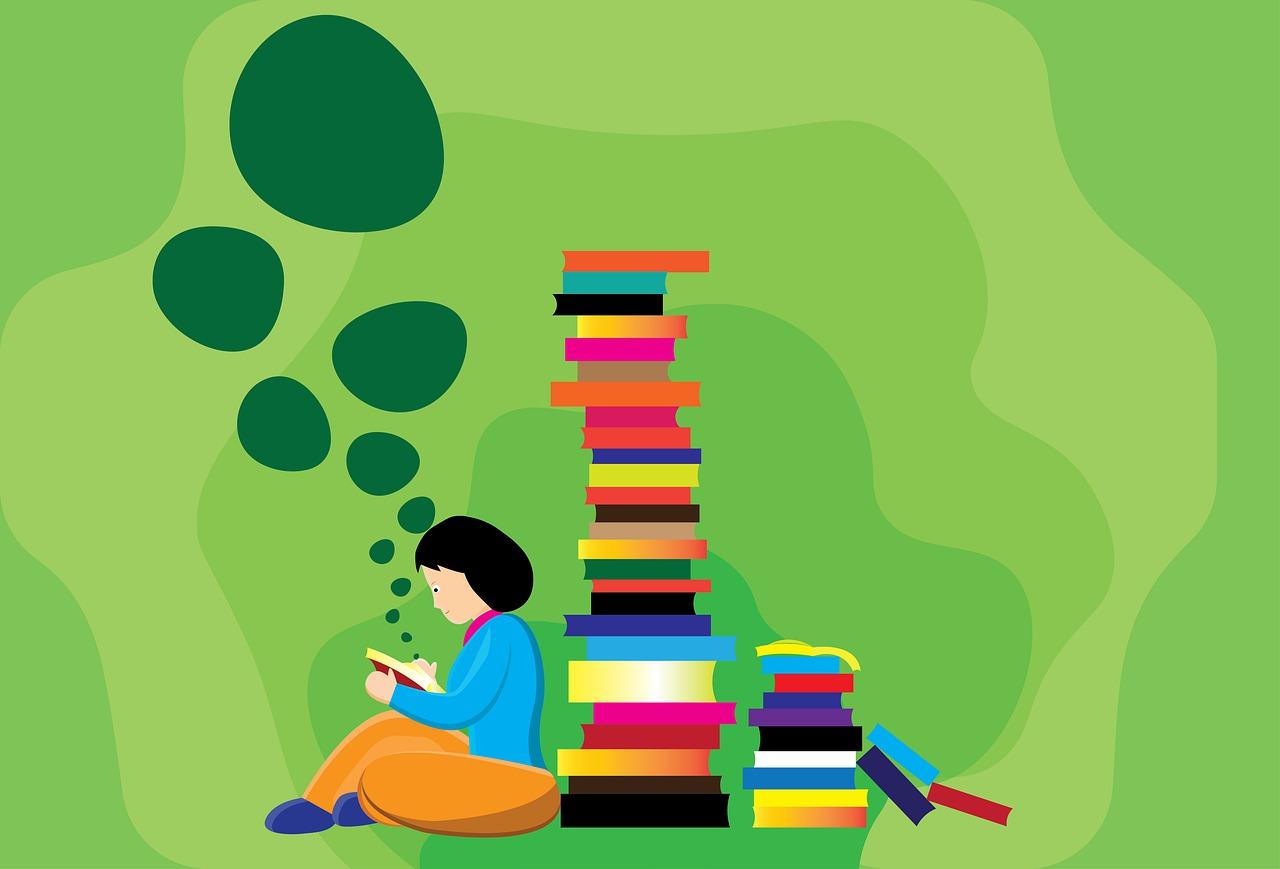 Los Libros La Lectura Niña - Imagen gratis en Pixabay