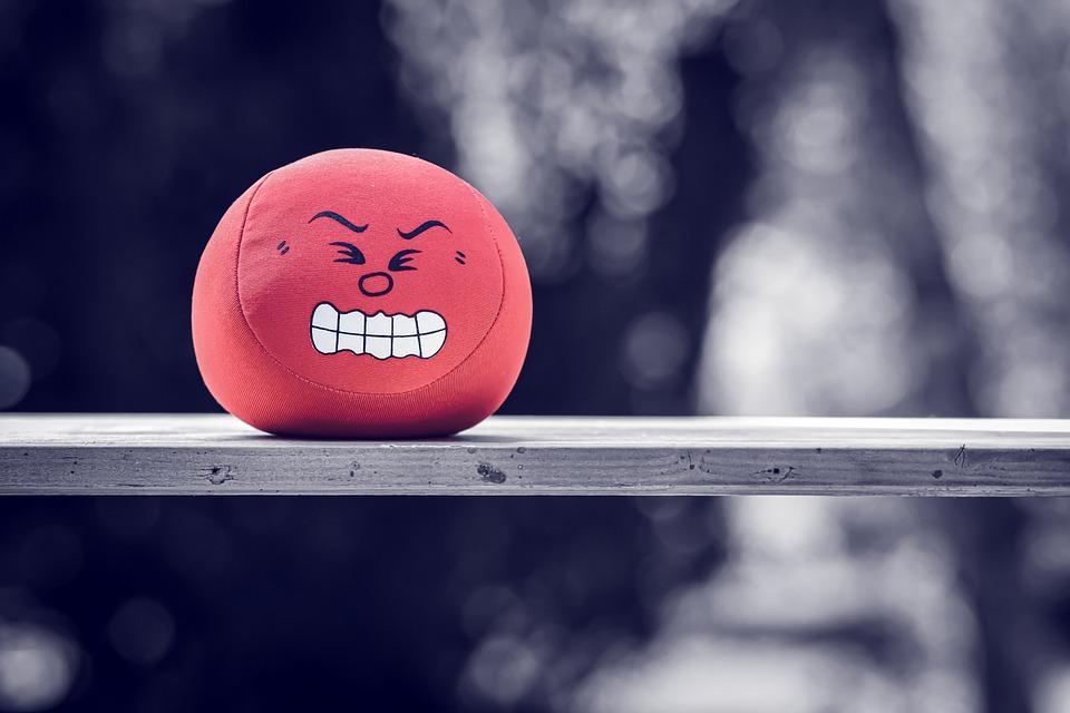 ボール, ストレスボール, 感情, 怒って, スマイリー, 絵文字, 顔, 式, 文字, 気分, おもちゃ