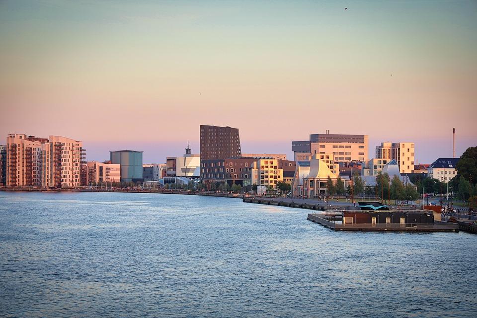 Cityscape, Skyline, Buildings, City, River, Urban