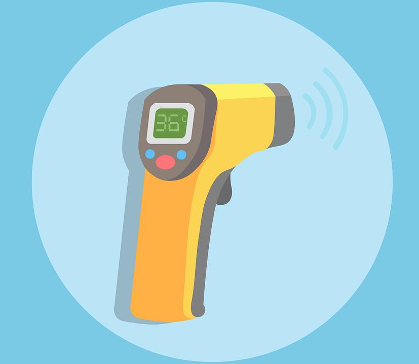 Thermomètre - Température - Sans contact - Technologie - Moderne - Santé - Médical - SchoolMouv - Sciences - CE1