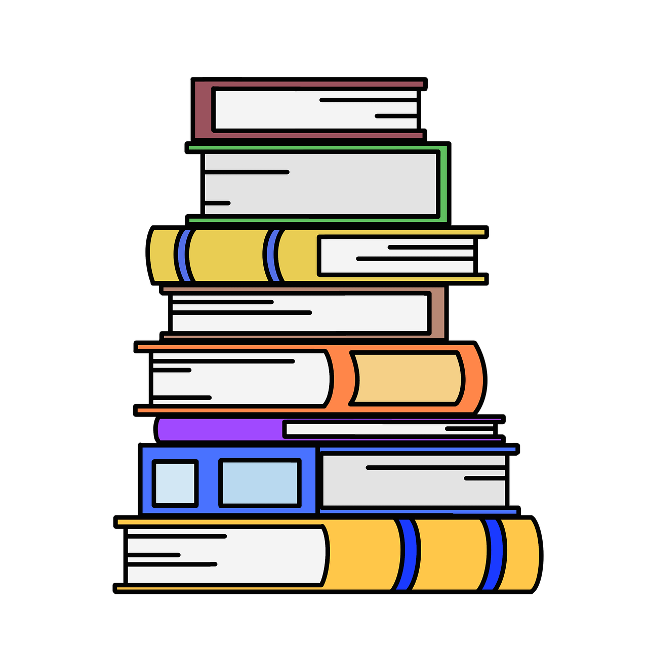 Books Stack Of Book - Free image on Pixabay