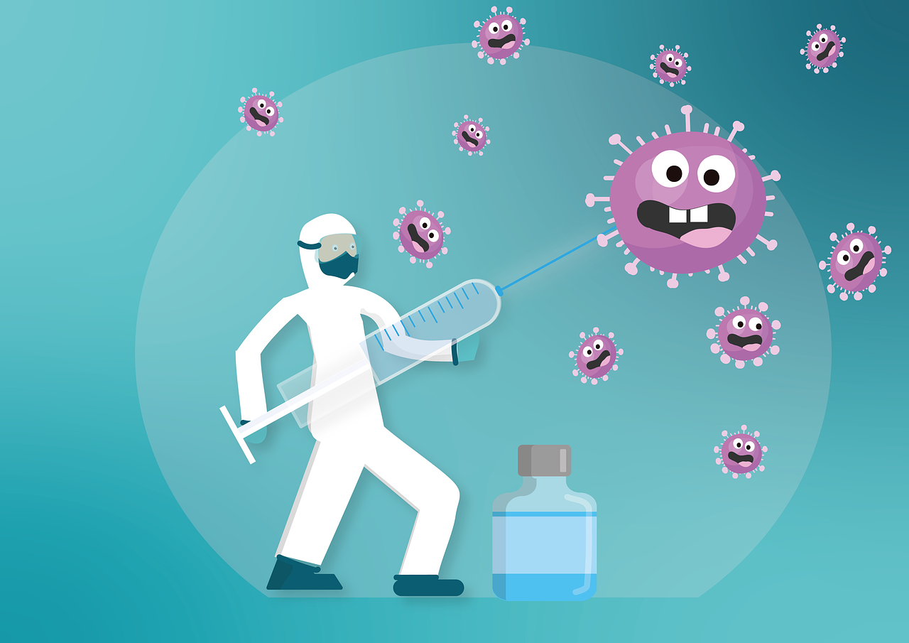 Vaccination cartoon