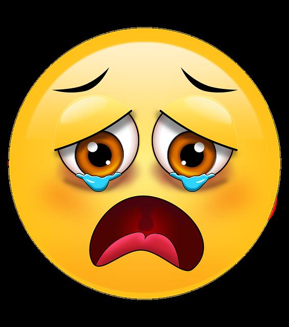 Triste Emoji Emoticone Image Gratuite Sur Pixabay