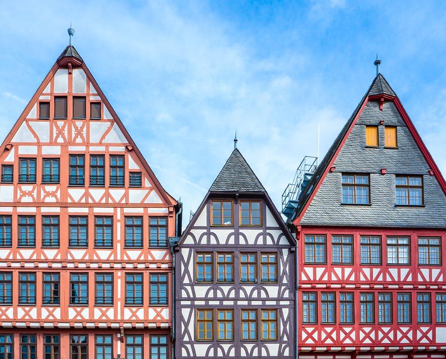 Frankfurt, Frankfurt Am Main Germany, Main, Houses
