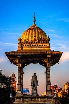 Temple, Statue, Monument, Architecture