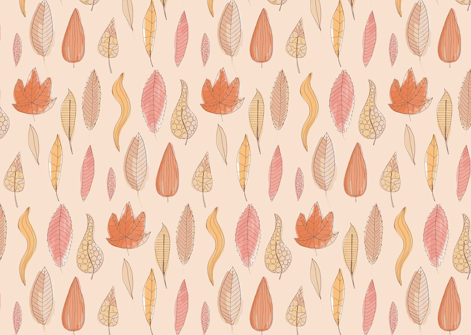 Leaves, Autumn, Pattern, Background, Watercolor, Fall