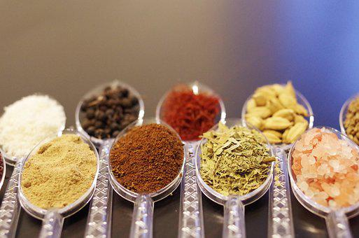 Spices, Herbs, Herbs And Spices, Spoons