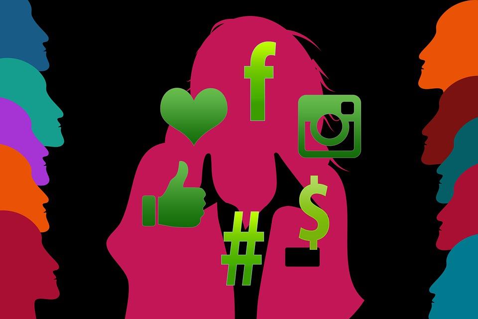 Influencer, Girl, Social Media, Marketing, Internet