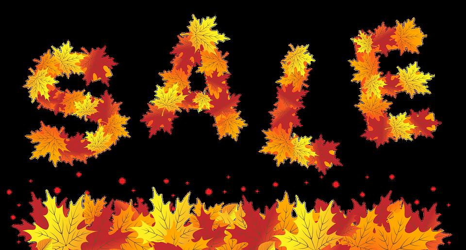 Sale, Banner, Shop, Autumn, Advertising, Promotion
