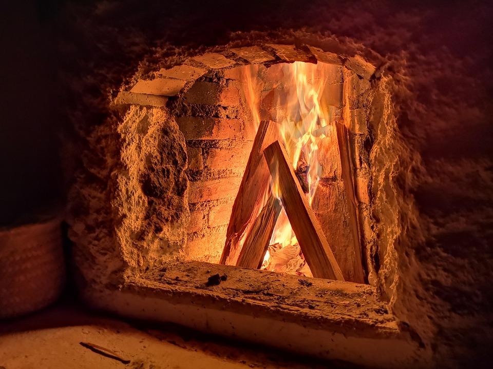 Fireplace, Fire, Flame, Hot, Heat, Wood, Firewood, Home