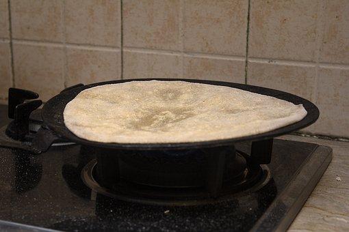 Roti, Chapati, Bread, Flatbread