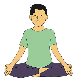 Boy, Yoga, Meditation, Peacefulness,Steam for Sore Throat , Breathing