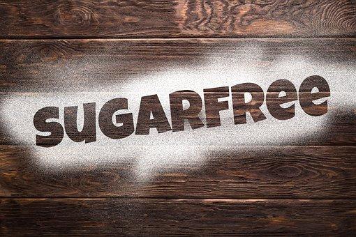 Sugar, Sugar-Free, Wood, Boards, Font