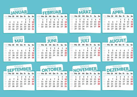200+ kostenlose Kalender & Termin Vektorgrafiken - Pixabay